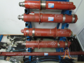 Hydraulic cylinder of the portable Ts22.000M3 Ø support (KRAZ-255 of B1,-260)