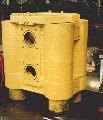 Домкрат гидравлический ДГ 650/1200 для натяжения канатов арматурных до усилия 1000 тс. при производстве работ по предварительному натяжению напряженных защитных оболочек АЭС с реактором ВВЭР-1000.
