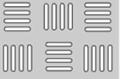 Перфорированный лист шахматка: 4,25х25; 2,25х25; 2,0х25мм, пр-во Днепропетровский завод Продмаш, Украина