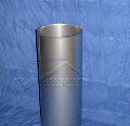 Труба одностенная дымовая L = 500мм