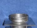 Окончание дымохода ( материал : Сталь нж AISI 316 ( 14401 ) ) используется для усиления конструкции дымохода особенно при проходе через перекрытие, крышу.