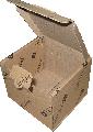 Ящики, коробки, листы, тара из 3-х слойного гофрокартона с нанесением печати