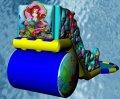 Горки (надувные, батутные: Русалочка) купить в Украине, цена, фото, купить