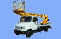 Автопідйомник телескопічний АП-15-01 ( 3-х місцевий), тип шасі ЗИЛ-5301Е2 призначений для доставки людей з матеріалами й інструментом на висоту до 15 м при виробництві ремонтних, будівельно-монтажних і інших видів робіт.
