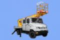 Автопідйомник телескопічний АП-15-02  ( 7-мі місцевий), тип шасі ЗИЛ-5301М2 призначений для доставки людей з матеріалами й інструментом на висоту до 15 м при виробництві ремонтних, будівельно-монтажних і інших видів робіт.