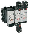 Spool-type distributors with electric air management. Series 9