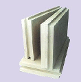Plates plaster for partitions, decorative and sound-absorbing
