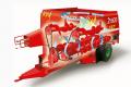 Кормосмеситель горизонтальный ZAGO KING. Дробилки кормов, оборудование для измельчения кормов