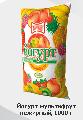 """Йогурт мультифрут нежирный, 1000 г производятся в полиэтиленовой упаковке весом 1000 гр, легкоусваиваемый молочный продукт пр-во ТМ """"Злагода"""""""