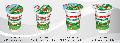 """Сметана 15%, 20%, 25%, 30% в полистироловом стакане -350г и 200г- вырабатывается ТМ """"Злагода"""" из пастеризованных сливок с добавлением чистых культур молочно-кислых бактерий."""