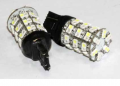 Светодиодные габариты для авто 7443-60SMD-1210 (white&yellow)