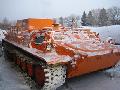 Машина транспортная гусеничная модель МТЛБ легкая плавающая для буксирования артиллерийских систем и прицепов, перевозки людей и различных грузов