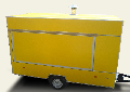 The trade trailer Kupava 813210-10, Booths on wheels (producer)