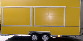 The trade trailer Kupava 813290w - the two-axis trailer