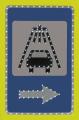 Светодиодный дорожный знак Фото, Изображение Светодиодный дорожный знак