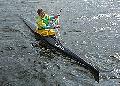 """Байдарка спортивна   """"ESTRELLA 420"""" склопластикова одиначка повна комплектація, довжина - 5,2 м, ширина - 0,42 м, додатково комплектується веслами"""