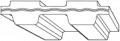 Транспортерные ленты DN-зубчатый параболический профиль, тип 1000/3