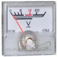 Вольтметр 20В (40х40)