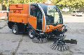 The sweeping harvester the CityCat 2020 model (PM-533701-3.01) compact, a machine design allows to carry out effectively and economically cleaning of both narrow passes, and the big areas, Odessa, Ukraine