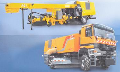 The sweeping blowing-off car for cleaning of runways of P 21 S, brush length in the P 21 car S makes 6000 mm is suitable for the big airports which seek for decrease in operational costs