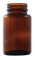 Бутылка широкогорлая полиэтиленовая темная (250 мл)