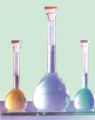 Volumetric flask 2a-500-2 (with plastic stopper)