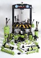 Домкраты гидравлические, гидродомкраты, гидродомкраты телескопические, домкраты, домкраты с ручным приводом гидравлические, 700 bar техника.