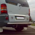 Защитная дуга заднего бампера Mercedes Vito