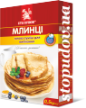Crepes, instant mix for baking