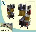 Открытый вращающийся стеллаж Арт. ШК-056 для папок и сегрегаторов, объем хранения 96 сегрегаторов.