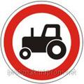 Дорожные знаки Запрещающие знаки Движение тракторов запрещено 3.5