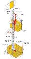 Лифты Union, г/п 1500кг, 2000кг, максимальная высота 200м