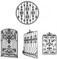 Оконные решетки металлические