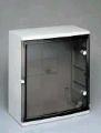 Шкаф распределительный с тонированными дверками Тип 3