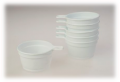 Cup. Disposable tableware
