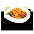 Carrots in Korean with mushrooms