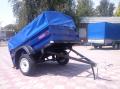 Прицеп грузовой КрКЗ-100 с функцией самосвальной разгрузкой платформы, высота борта 350 мм