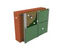 Утеплитель фасадный ИЗОВАТ 65 кг/м3, 100 мм, утепление наружных стен под вентилируемые фасады