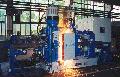 Стационарная машина для контактной стыковой сварки рельсов К 1100 модернизацированная площадью поперечного сечения от 5 000 мм. кв. до 10 000 мм.кв. в длинномерные плети, в том числе имеющие в своем составе изолированные стыки.