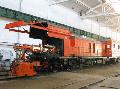 Машина КРС-1 предназначена для контактной стыковой сварки рельсов сечением от 6500 мм2 до 10000 мм2 непосредственно на пути во время строительства и ремонта железнодорожного пути