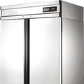 Refrigerating case from stainless steel with metal doors of polair grand CM110-G