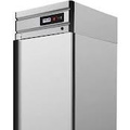 Refrigerating case from stainless steel with metal doors of polair grand CM107-G