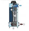 Filters of oil aerosols of NOM