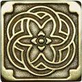 Декоративная вставка из бронзы Kaleidoscope (7,5x7,5), арт. 1