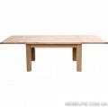 Стол из дуба модели Еко+ 1600(+2*500)*900*750 мм  экспорт