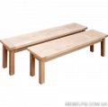 Экологическая мебель  из дуба, лавка Еко  1600*330*450мм