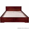 Кровать двуспальная Breda из натурального дерева дуб предназначена для здорового, крепкого и сладкого сна. цена Украина