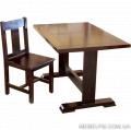 Комплект мебели Жан из массива дуба