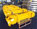 Cardan shafts of industrial function and for plate rolling