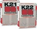 Сірий клей на цементній основі Litokol Cementkol K21 для керамічного облицювання 25 кг